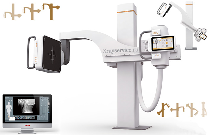 multipurpose X-ray digital U-Arm TITAN 2000